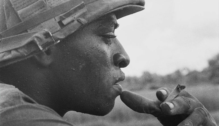 Soldier of the 25th Infantry Division, c., 1969.