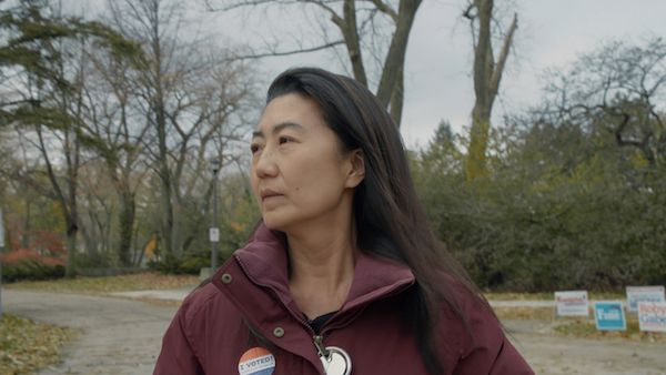 Julie Cho ran as a Republican in a blue district in Chicago's North Shore. Photo: Hillary Bachelder
