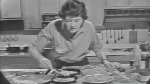 Julia Child on The French Chef